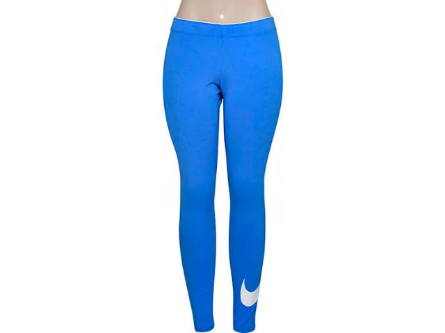 Calça Feminina Nike 815997-435 Club Logo 2 Womens Azul