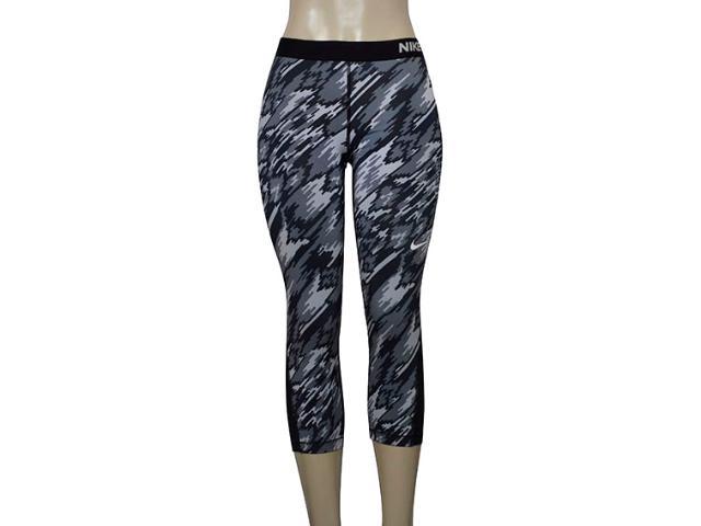 Calça Feminina Nike 803160-010 Pro Cool Cinza/preto