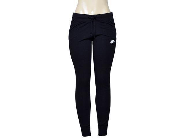 Calça Feminina Nike 807364-010 w Nsw Pant Flc Preto