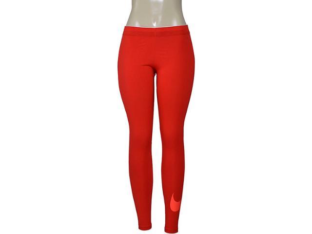 Calça Feminina Nike 815997-658 Sportswear Vermelho