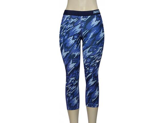 Calça Feminina Nike 803160-508 Pro Cool  Roxo/preto
