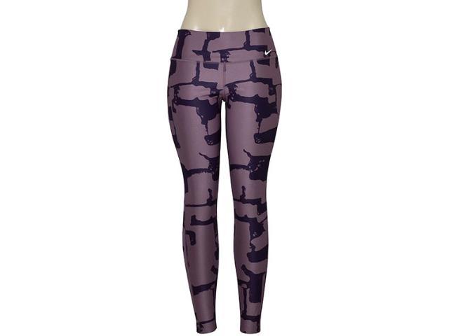 Calça Feminina Nike 802998-533 Dry Training Lilas Escuro/roxo