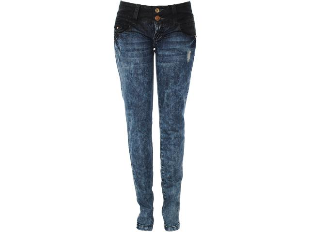 Calça Feminina Moikana 9801 Jeans