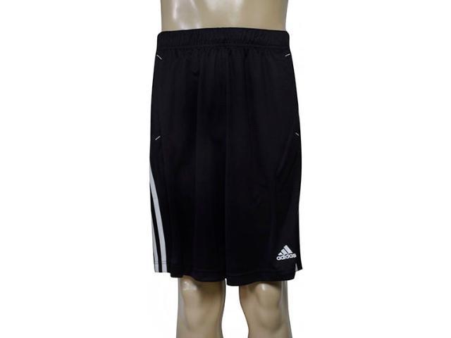 Calçao Masculino Adidas F86297 Essential Sho Preto/branco