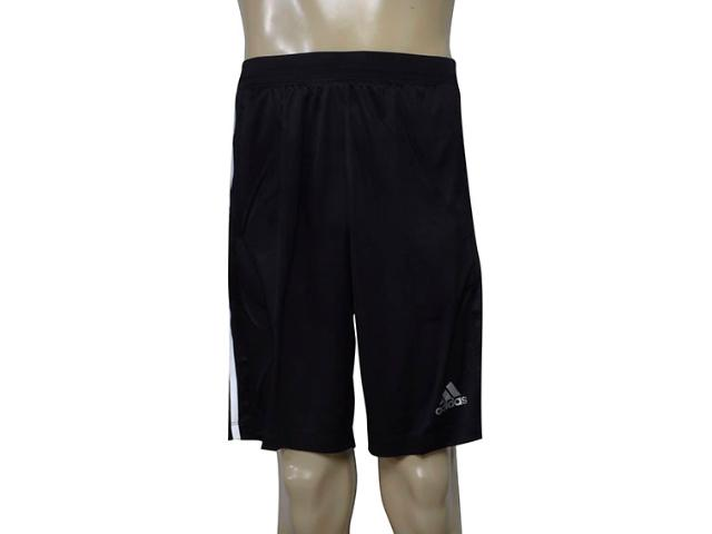 Calçao Masculino Adidas Bp9111 D2m 3s Preto/branco