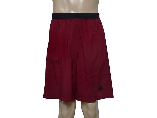 Calçao Masculino Adidas Ce7815 D2m Wvn Shor Vinho