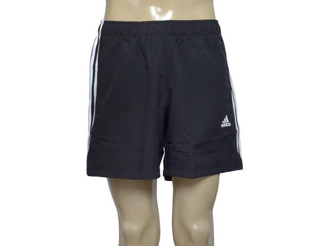 Calçao Masculino Adidas S88113 Ess 3s ch Preto/branco