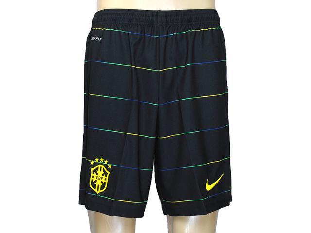 Calçao Masculino Nike 577859-337 Cbf 3rd  Stadium Short Musgo