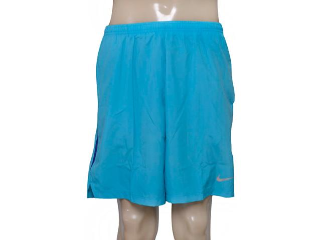 Calçao Masculino Nike 644242-418 7 Challenger Azul Claro