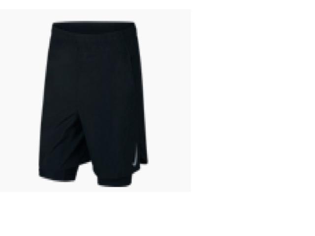 Calçao Masculino Nike Aj7741-010 Challenger 7 Preto