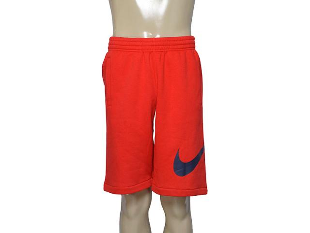 Calçao Masculino Nike 633523-657 Club Exploded  Vermelho