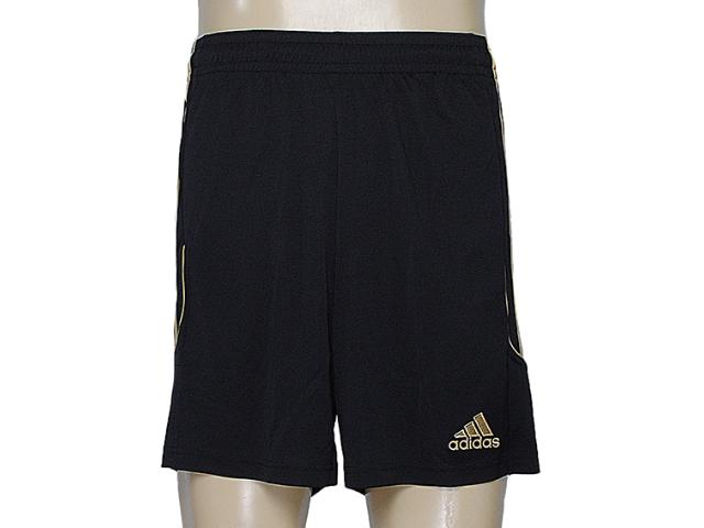 Calçao Masculino Adidas Z21566 Squadra 13 Preto/dourado