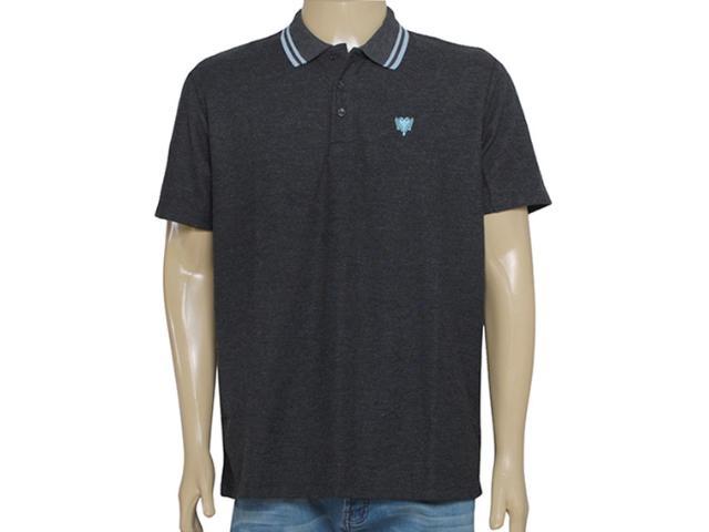 Camisa Masculina Cavalera Clothing 03.01.0642 Mescla Escuro