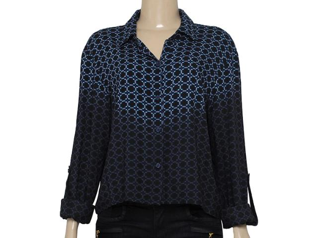 Camisa Feminina Cavalera Clothing 09.05.0375 Preto/roxo