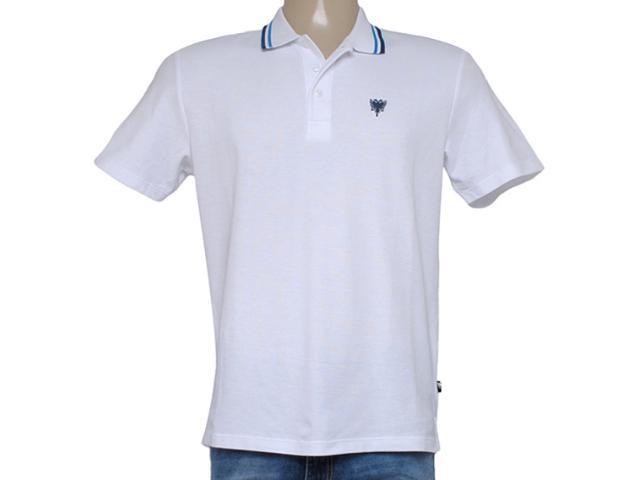 Camisa Masculina Cavalera Clothing 03.01.0643 Branco/azul