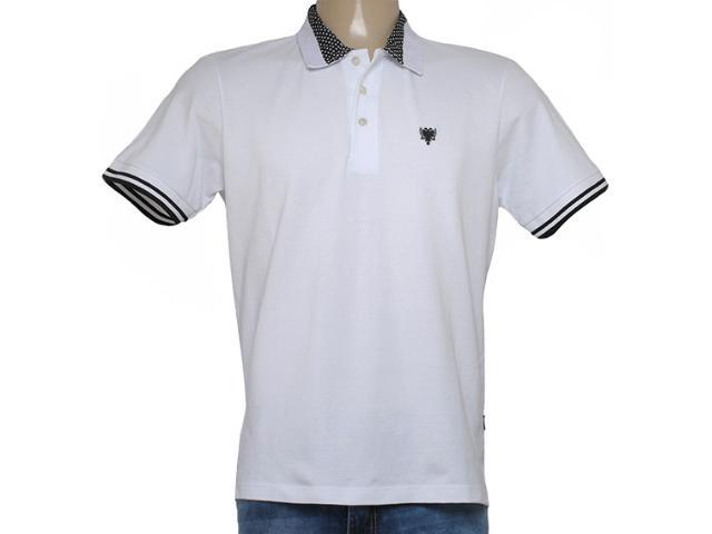 Camisa Masculina Cavalera Clothing 03.01.3830 Branco/preto