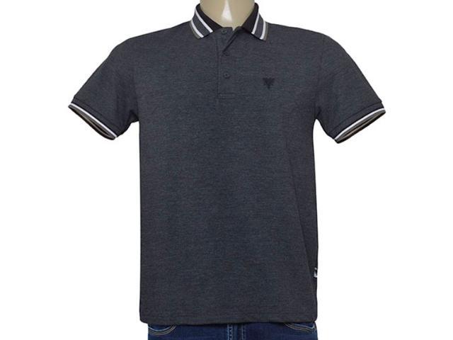 Camisa Masculina Cavalera Clothing 03.01.3824 Mescla Escuro