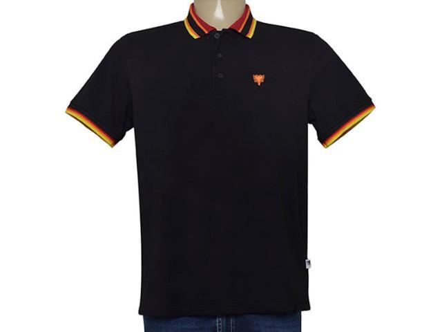 Camisa Masculina Cavalera Clothing 03.01.3824 Preto
