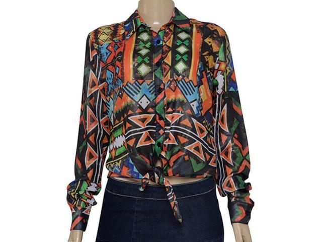 Camisa Feminina Cavalera Clothing 09.05.0408 Estampada
