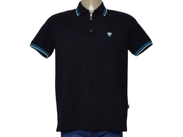 Camisa Masculina Cavalera Clothing 03.01.0645 Preto/azul/verde