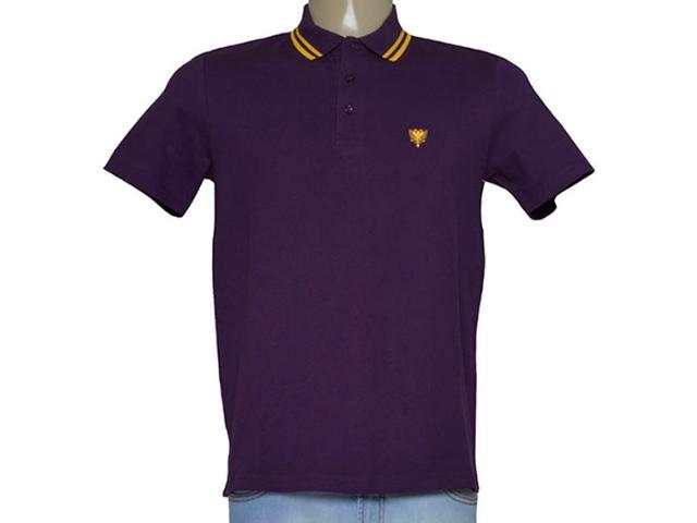 Camisa Masculina Cavalera Clothing 03.01.0642 Roxo