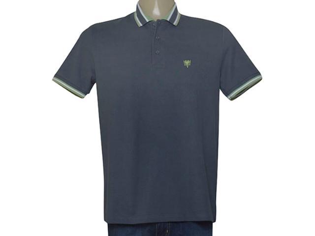 Camisa Masculina Cavalera Clothing 03.01.3824 Grafite/verde