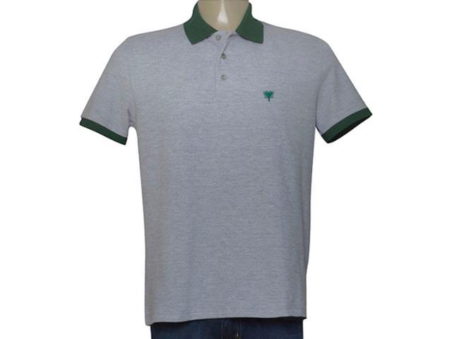 Camisa Masculina Cavalera Clothing 03.01.3881 Mescla/verde