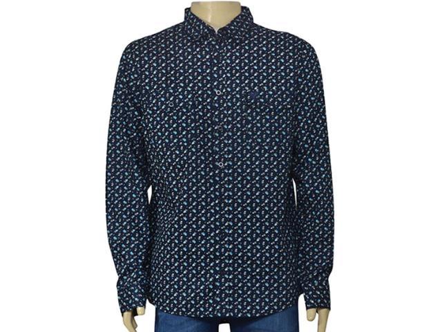 Camisa Masculina Cavalera Clothing 02.01.1433 Navy