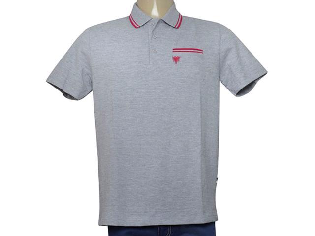 Camisa Masculina Cavalera Clothing 03.01.3820 Cinza/pink