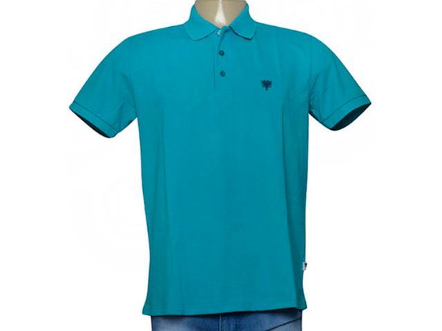 Camisa Masculina Cavalera Clothing 03.01.3979 Azul Turquesa