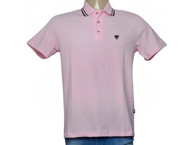 Camisa Masculina Cavalera Clothing 03.01.0642 Rosa/preto