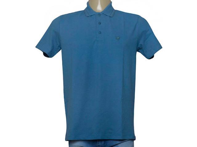 Camisa Masculina Cavalera Clothing 03.01.0642 Azul Petróleo