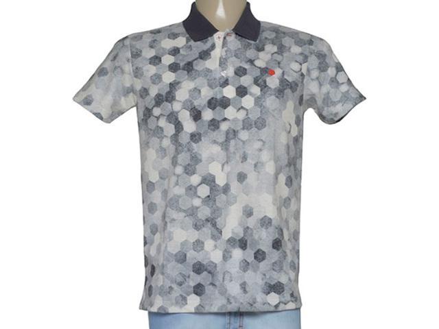 Camisa Masculina Coca-cola Clothing 255200026 Var1 Cinza Estampado