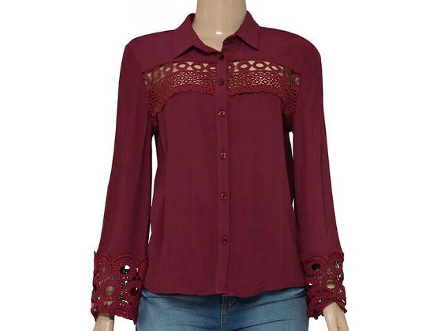 Camisa Feminina Colcci 300101700 Vermelho