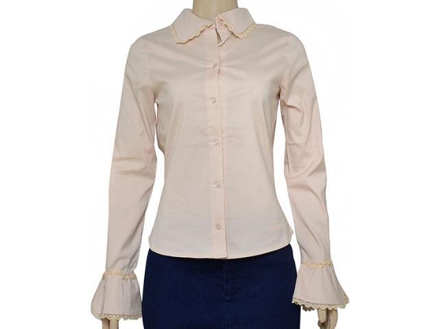 Camisa Feminina Cumplice 011201 Pêssego