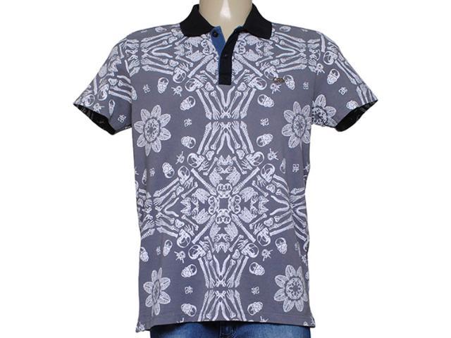 Camisa Masculina Dopping 015457510 Grafite
