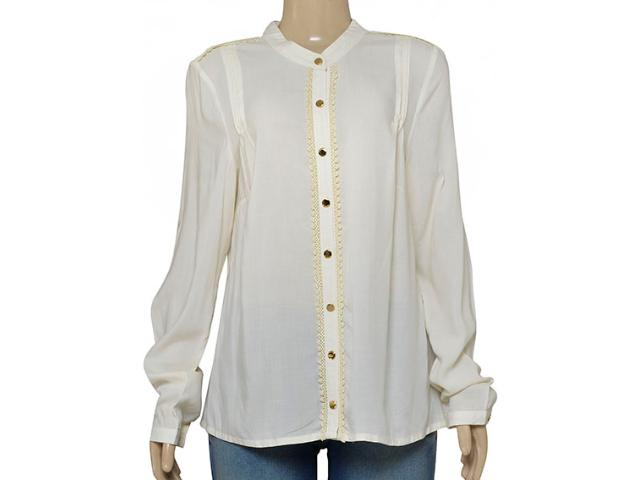 Camisa Feminina Dopping 011964031 Off White