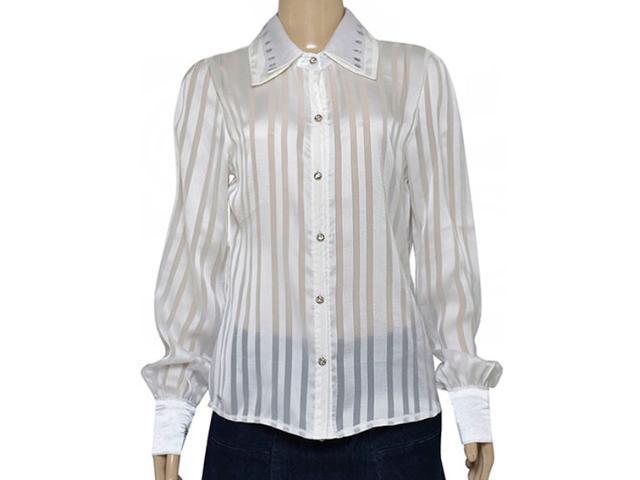 Camisa Feminina Dopping 011953515 Branco