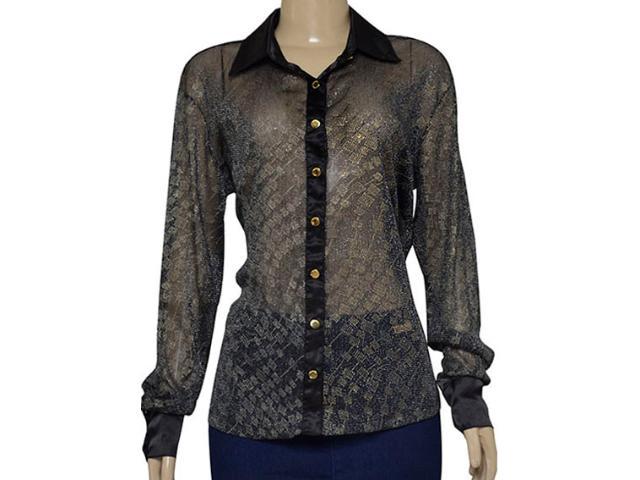 Camisa Feminina Dopping 011954513 Preto