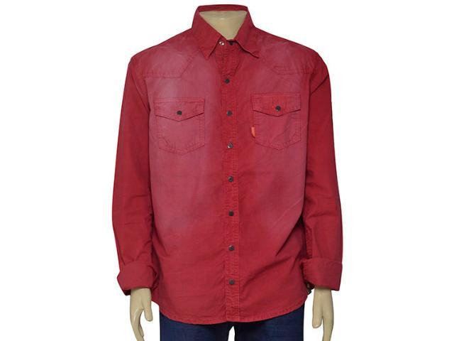 Camisa Masculina Dopping 011959000 Vinho
