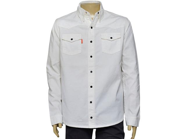 Camisa Masculina Dopping 011959006 Off White