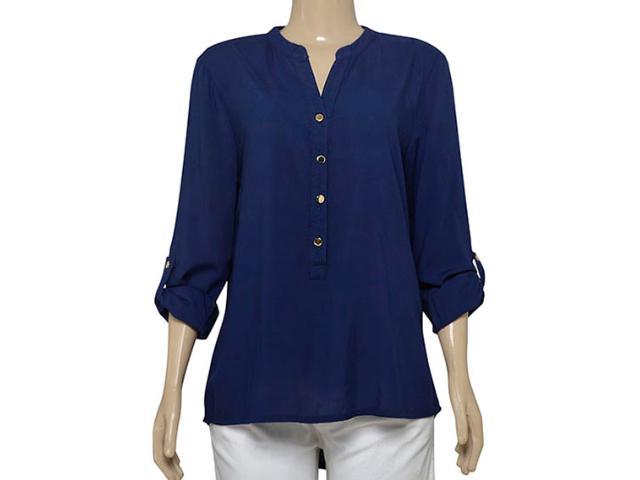 Camisa Feminina Dopping 011964035 Marinho