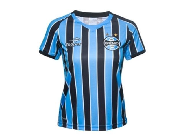 T-shirt Feminino Grêmio C9000f Tricolor