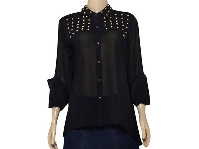 Camisa Feminina Index 07.01.000085 Preto