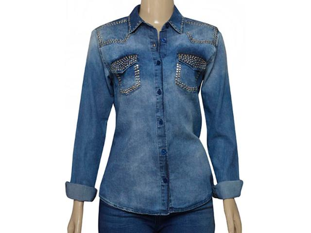 Camisa Feminina Index 07.01.000388 Jeans