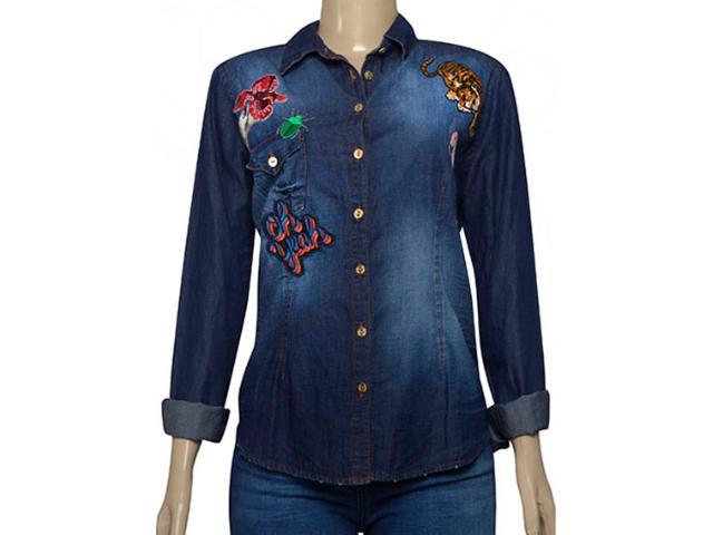 Camisa Feminina Index 07.01.000399 Jeans