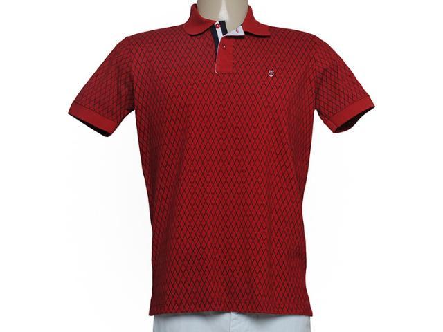 Camisa Masculina Individual 306.22222.087 Vermelho
