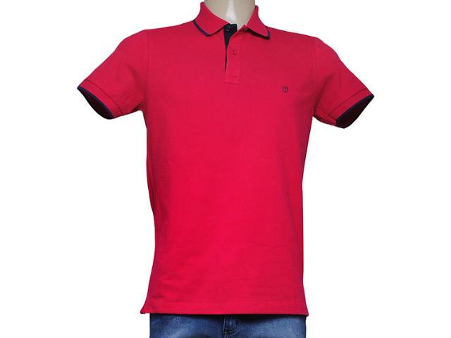 Camisa Masculina Individual 306.22222.121 Vermelho