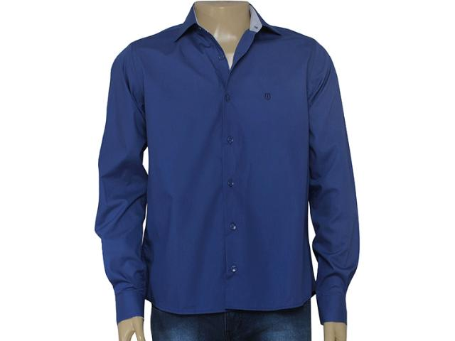 Camisa Masculina Individual 302.02446.001 Azul