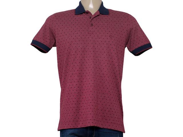 Camisa Masculina Individual 306.22222.116 Bordo/marinho